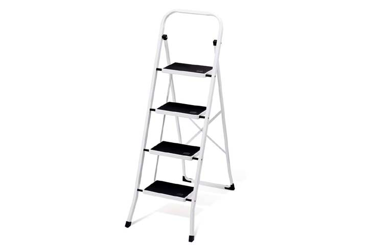 Delxo Folding 4 Step Ladder