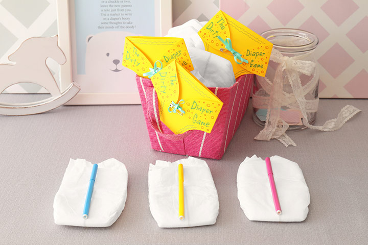 Fun Baby Shower Diaper Games To Play