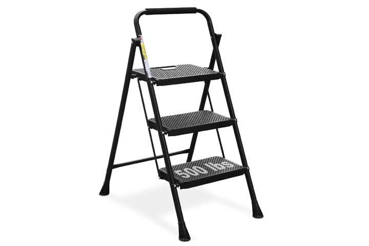 HBTower 3 Step Ladder