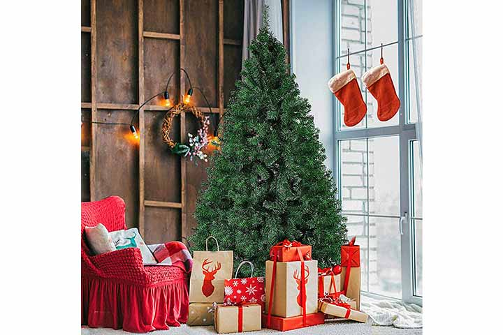 KARMAS PRODUCT Artificial Christmas Tree With Decorations