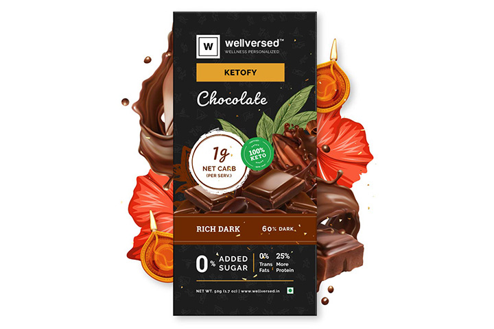 KetofyDark Keto Chocolate