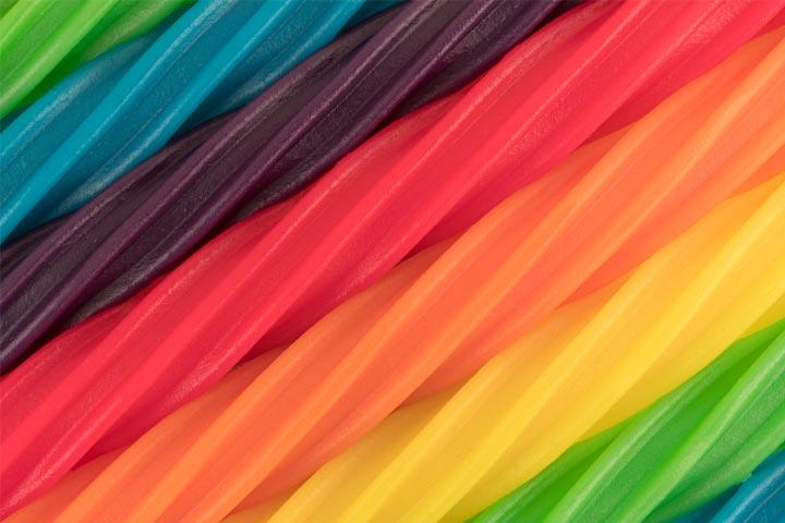 Licorice straws