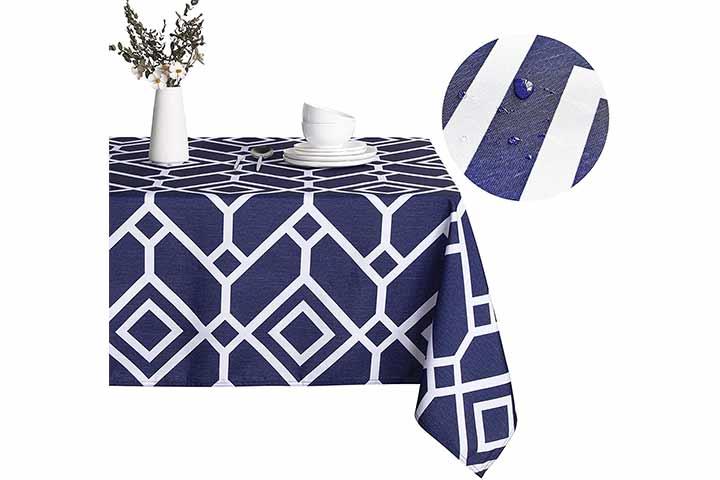 Lushvida Moroccan Rectangle Tablecloth