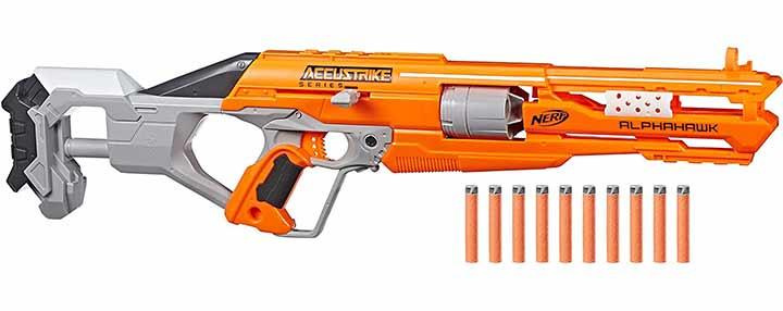 Nerf AlphaHawk Accustrike Elite Blaster