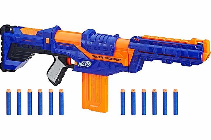 Nerf N-Strike Elite Delta Trooper Combat Blaster with Darts