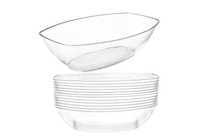 Prestee Plastic Snack Serving Bowls