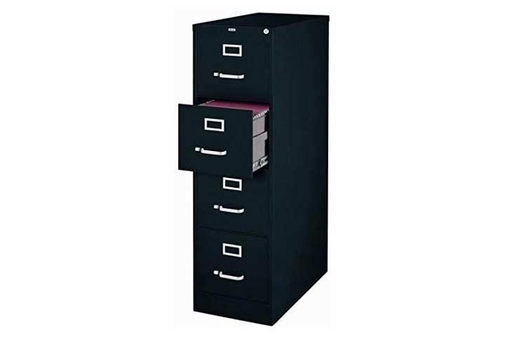 Scranton & Co 4 Vertical File Cabinet