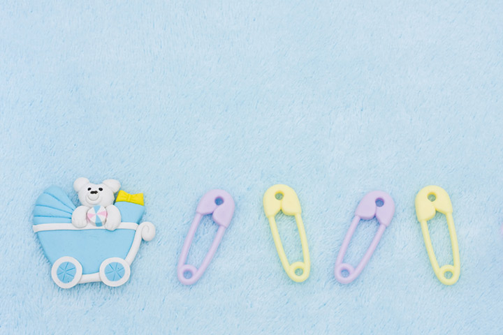 The diaper pin game