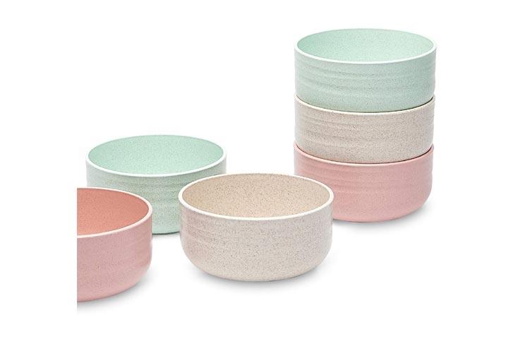Yulia Basanti Microwave-Safe Snack Bowls