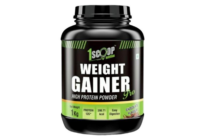1 Scoop Nutrition Pro-Weight Gainer