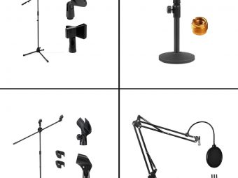 13 Best Microphone Stands To Buy In 2021