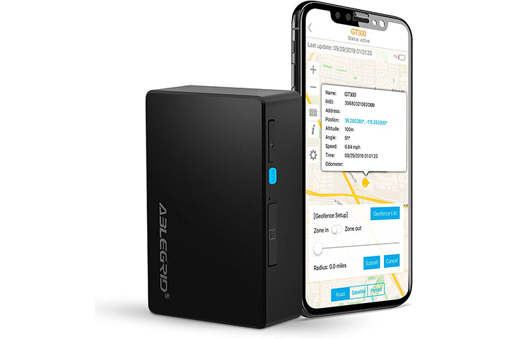 Ablegrid 4G LTE GPS Tracker