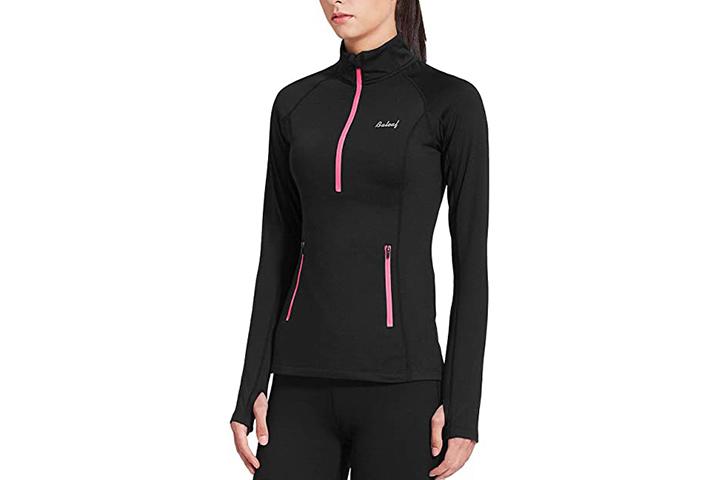 BALEAF Women's Long Sleeved Running Pullover