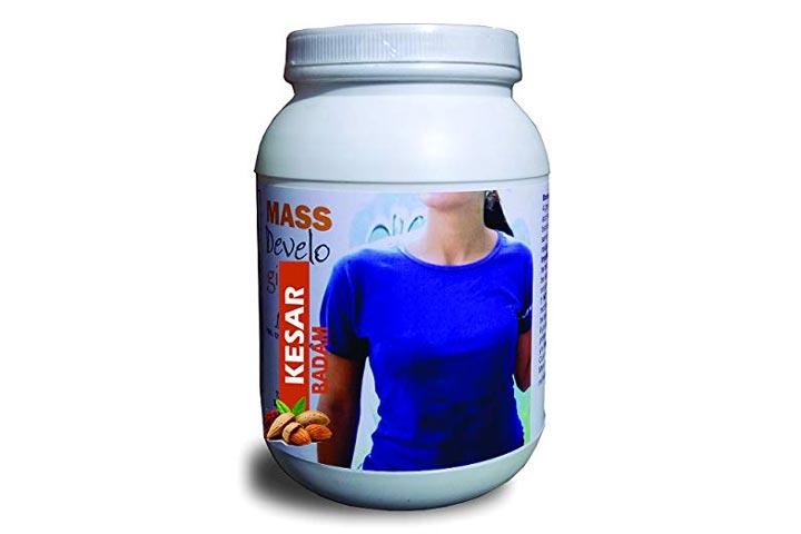 Develo Weight Mass Gainer Protein Powder Nutrition Supplement