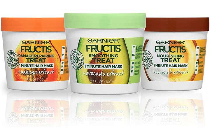 Garnier Fructis Hair Masks