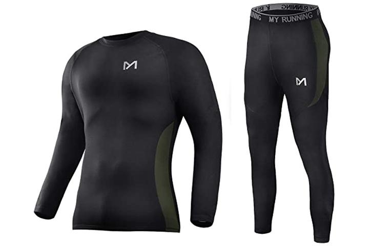 Meetyoo Men's Winter Gear Compression Suits