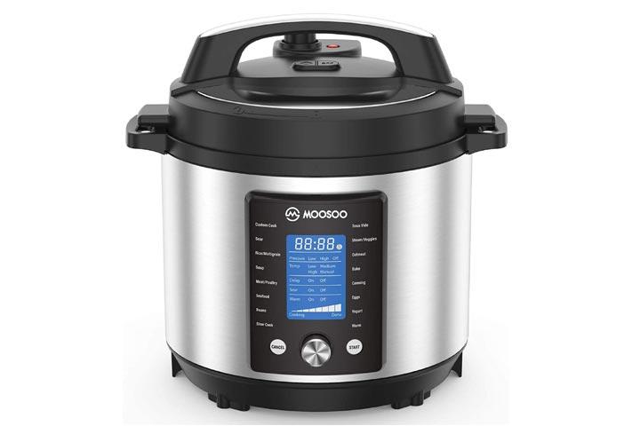 Moosoo 15-in-1 Electric Pressure Cooker