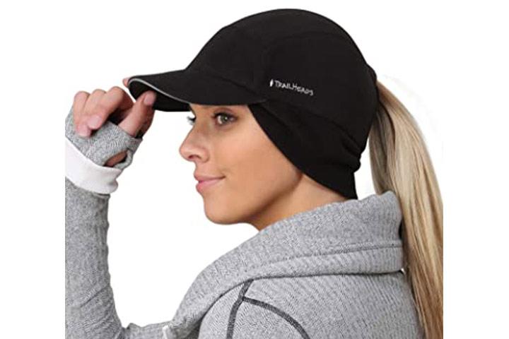 TrailHeads Fleece Ponytail Hat