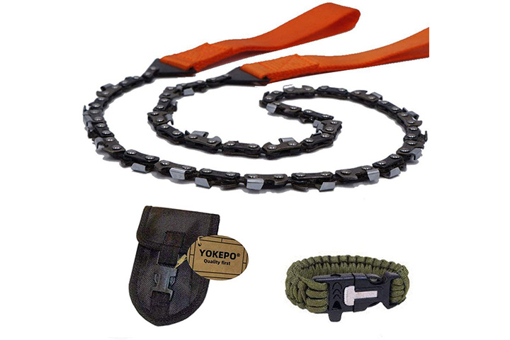 Yokepo Survival Pocket Chainsaw