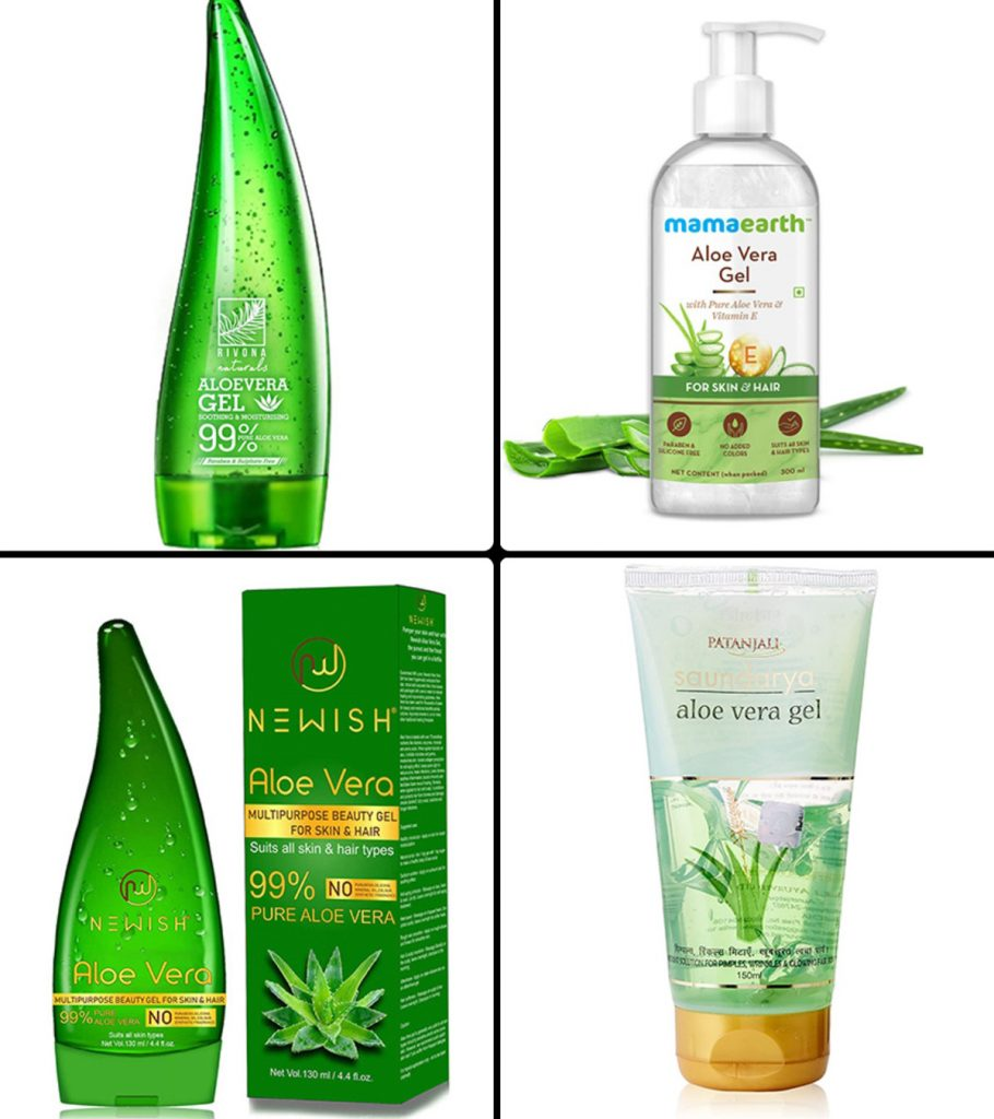 11 Best Aloe Vera Gels For Face In India-2021