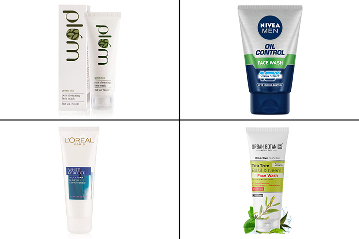 13 Best Face Washes For Oily Skin In India-2021