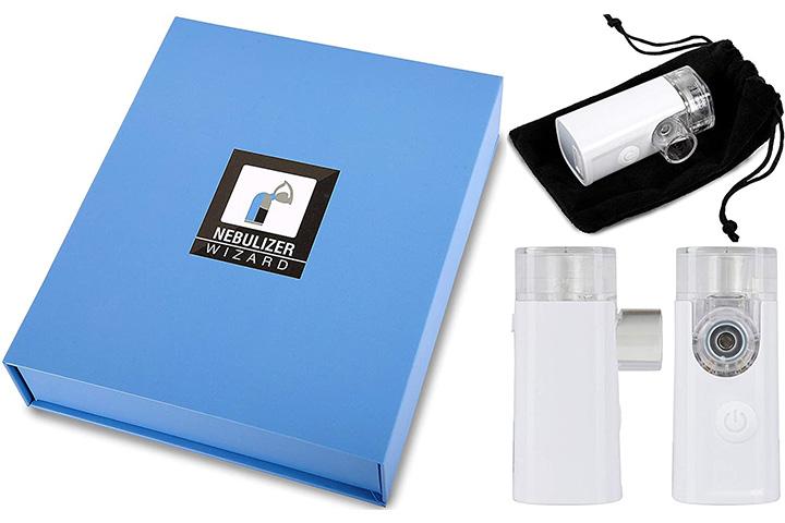 Bauer Und Haselbart Wizard Research Laboratories Handheld Nebulizer