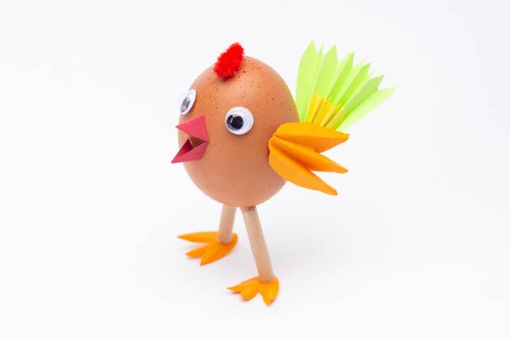 Eggshell bird
