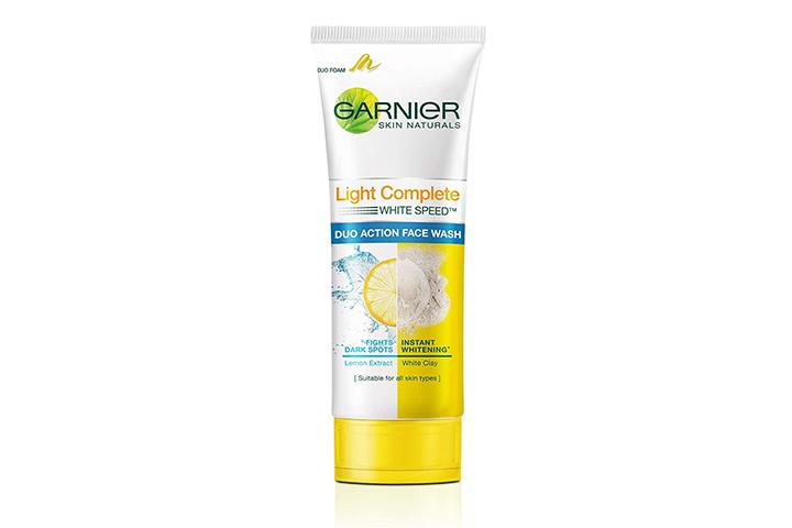 Garnier Skin Natural Light Complete Duo Action Facewash