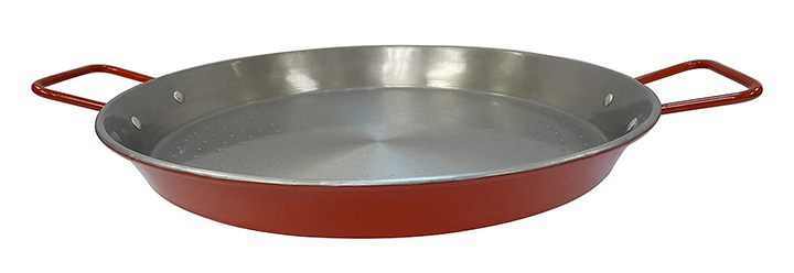 Imusa USA Red Paella Pan