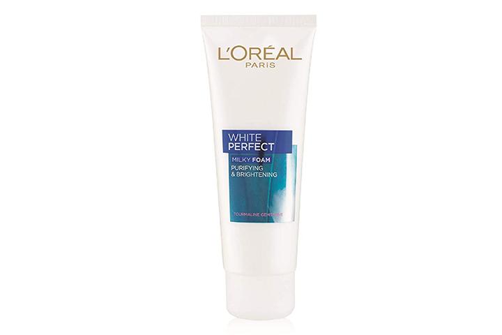 L'Oreal Paris White Perfect Milky Foam Face Wash