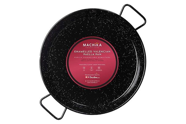 Machika Enameled Steel Paella Pan