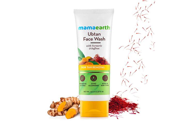 MamaearthUbtan Natural Face Wash