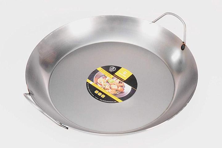 Matfer Bourgeat Black Steel Paella Pan
