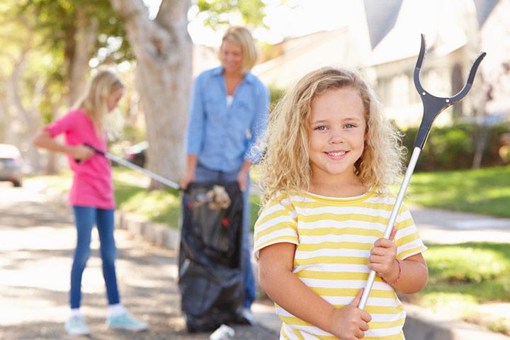 Start a beighborhood clean-up drive