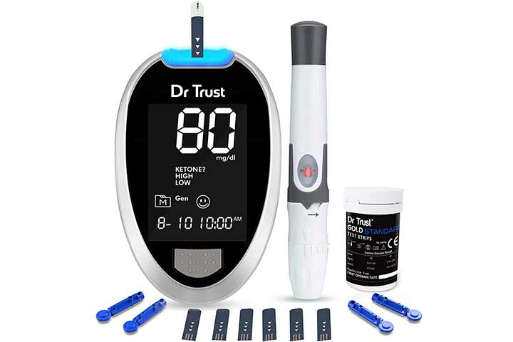 Trust Fully Automatic Gold Standard Blood Glucose Monitoring System