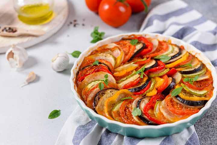 Veggie loaded casserole
