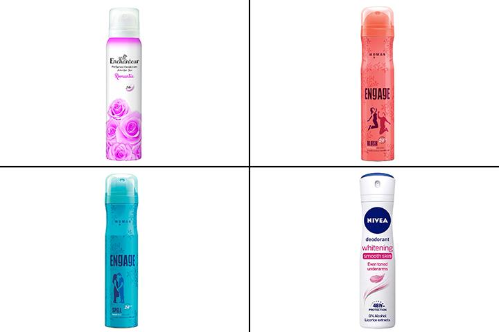 17 Best Deodorants For Women In India - 2021