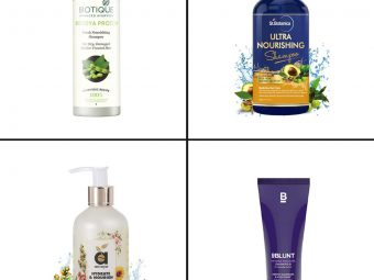 17 Best Shampoos For Dry Hair In India In  2021