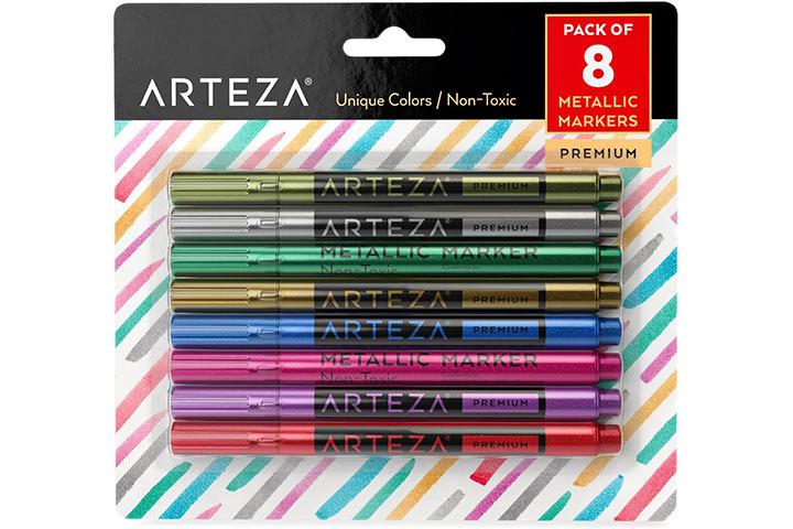 Arteza Metallic Markers