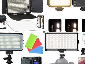 13 Best On-Camera LED Lights in 2021