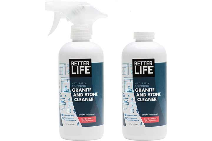 Better Life Naturally Stunning Granite and Stone Cleaner