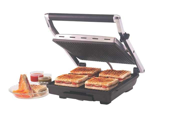 Borosil Super Jumbo BGRILLSS23 Grill Sandwich Maker