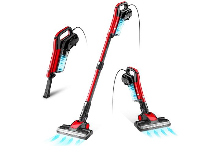 GeeMo 4-in-1 Stick Vacuum Cleaner