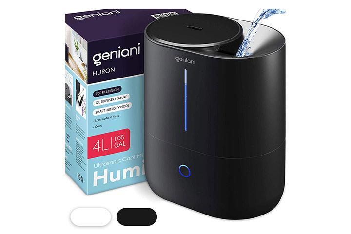 Geniani Ultrasonic Cool Mist Humidifier