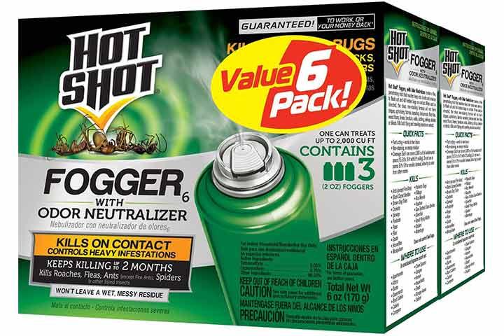 Hot Shot Fogger 6 With Odor Neutralizer