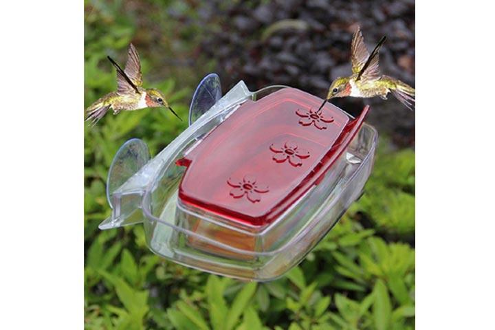 Juegoal Window Hummingbird Feeder