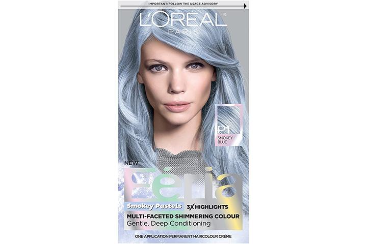 L'Oreal Paris Feria Multi-Faceted Shimmering P1 Sapphire Smoke Hair Dye