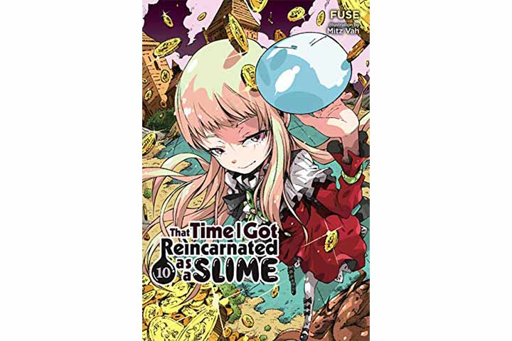 That Time I Got Reincarnated As A Slime, Vol. 10