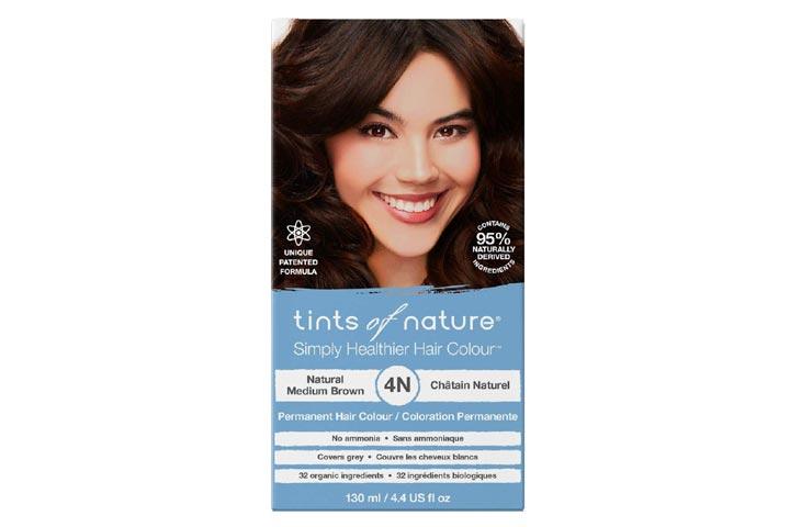 Tints Of Nature 4N Natural Medium Brown