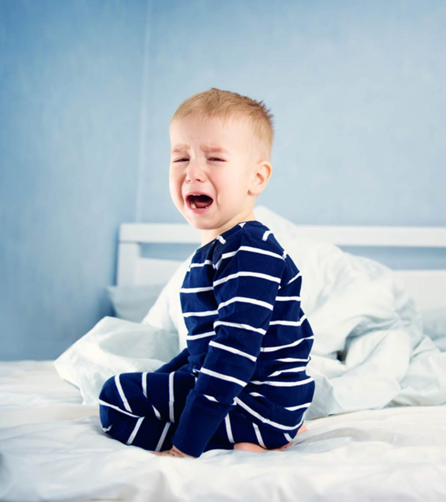 Toddler Waking Up At Night Reasons And Tips To Prevent It Banner 910x1024